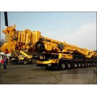 Quality Large 110 Ton Lifting Capability Mobile Truck Mounted Crane 5 Section Boom for sale