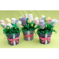 China Cool baby boy clothes bouquet 3-6 Months , baby washcloth bouquet present on sale