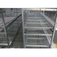 Quality Environmental Friendly Poultry Cage Equipment Customized Size Management Easily for sale