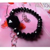 Quality Cool Black Crystal Bracelet Jewellery (BE-036) for sale