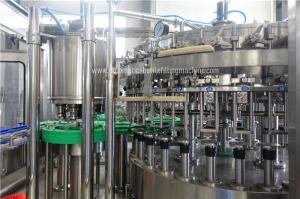 Quality 750ml Beer Glass Bottle Filling Machine with rotary capping function for sale
