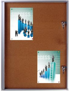 Buy cheap Square Landscape Silver 35mm Lockable Poster Case from wholesalers