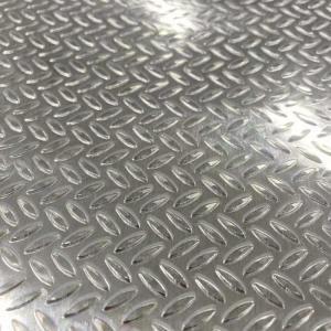 Quality Double Diamond Aluminum Sliver Mesh Sheet Black Aluminum Diamond Plate Sheets for sale