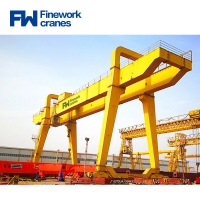 Quality Double Girder Industrial Mobile Warehouse Gantry Crane for sale
