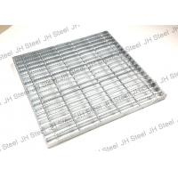 Quality Light Duty Serrated Galvanized Steel Grating Astma 36 Press Lock Steel Grate for sale