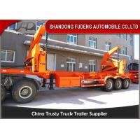 China 40 Ton 40ft  Hydraulic Side Loader Trailer For Containers Transportation on sale
