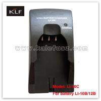 Buy Camera battery charger LI-10C for Olympus camera battery LI-10B/12B at wholesale prices