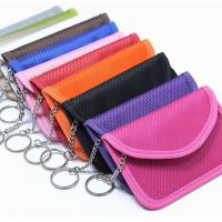 Quality RFID Shielding Pouch Wallet case RFID Signal Blocking Bag for Cell Phone Privacy Protection and Car Key FOB for sale