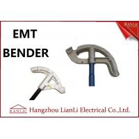 """Quality 3/4"""" 1"""" Aluminum EMT Conduit Bender Conduit Tools with Blue / Yellow / White Handle for sale"""