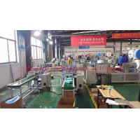 Quality Automatic Face Masks Roll Forming Machine , Disposable Face Mask Production Line for sale