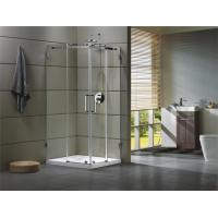 Quality Corner Shower room 304 stainless steel Rail bar Material for bathroom 100X100X195/cm for sale