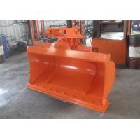 China High Efficiency Hitachi ZX120 Excavator Tilt Bucket With Bolted Cutting Edge on sale
