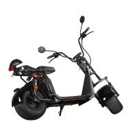 Buy cheap Ecorider 2 Wheel Electric Scooter 1500w EEC City Coco LED Turn Light With Fat Tire from wholesalers