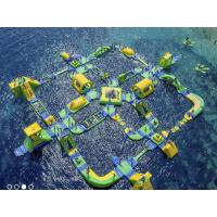 Best PVC Tarpaulin  Inflatable Water Park Water Theme Water  Park For Adult In Beach wholesale