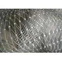 Quality Decorative Ferrule Flexible Stainless Steel Wire Rope Mesh For Stair Railing for sale