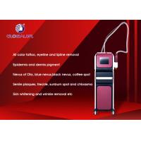 China Portable ND YAG Laser Machine Pigment Removal With Honeycomb Head / Trolley on sale