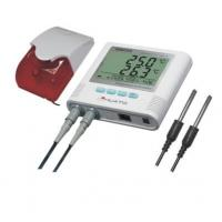 Quality External alarm  Display Two Channel Temperature Data Logger with software for sale