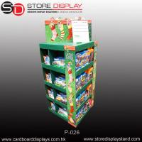 Best Custom PDQ stationery Pallet display stand with four sides wholesale