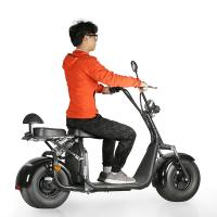 Buy cheap Harley Citycoco self Balance Electric Scooter with Fat Tires , LG lithium battery from wholesalers