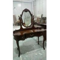 Totally solid wood dressing table
