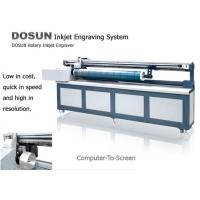 Buy cheap Digital Inkjet Rotary Engraving Machine , High Precision Textile Engraving from wholesalers