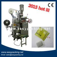 Quality Automatic Tea Bag Packing Machine(Fliter Paper With String & Tag Then Into Outer Envelope) for sale