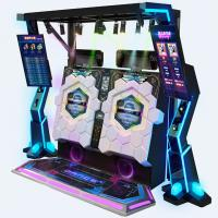 Quality Arcade Video Dance Cube Coin Operated Music Machine For 1-2 Players for sale