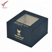 Quality Free sample Top grade Gorgeous Black cosmetic jar packaging box with plastic blister inside for sale