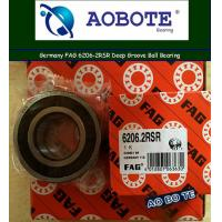 Quality Deep Groove FAG Roller Ball Bearings Single Row 6206-2RSR OEM ODM for sale