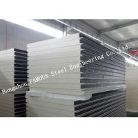 Quality Environment Protection PU Sandwich Insulated Panels Water Resistant for Wall Systems for sale