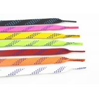Quality High Tenacity Waxed Ice Skate Laces Custom Package Polyester Cotton Material for sale