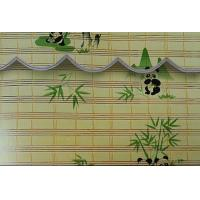 Quality Elegant Color Bamboo Vertical Blinds , Bamboo Roman Window Shades Office Use for sale