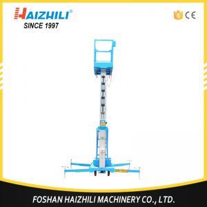 Quality Best selling general industrial equipment portable single mast aluminum lift platform for sale