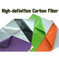 Quality High-definition Carbon Fiber Vinyl Car Wrapping Film - colors for choose for sale