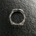 Quality Women Smart Carbon Fiber Watch Case , Carbon Fibre Machining Forged Surface for sale
