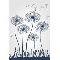Quality Living Room Wall Panels Interior Bamboo Fiber Mold Resistant Flying Dandelion for sale