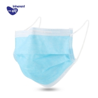 Quality Hospital Use Elastic Ear loop Style 3 Ply Face Mask for sale