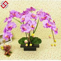 China Artificial DIY newly design flower arrangement home decor butterfly orchid on sale