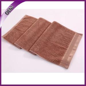 Quality 100% cotton terry bulk jacquard face towel for sale