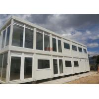 Quality 20ft Steel Frame Mobile Container House Prefab Movable For Hotel Labor Camp for sale