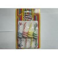 Best Unique Twisted Spiral Shaped Birthday Candles Flameless 4 Pcs Per Set wholesale