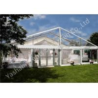 China Beautiful Partition Wall Decorated Aluminum Large Outdoor Wedding Reception Tents 20x30M on sale