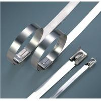 Quality Electrical Releasable Stainless Steel Cable Ties Customizable Inch Standard for sale