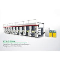 Quality Powerful 8 Color Rotogravure Printing Machine For Once Through Continuous Printing 1250 MM for sale