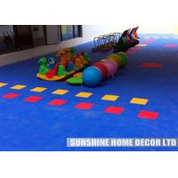 China Commercial Playground Playground Safety Surfacing Tiles Creative For Kids on sale