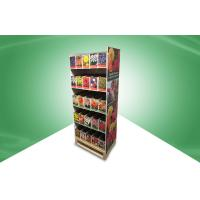 Best Home Five - Shelf POS Cardboard Floor Displays , Recyclable And Strong wholesale