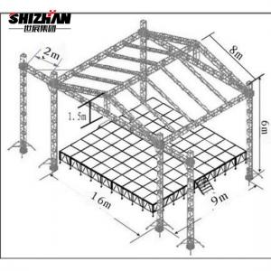 Quality Stage Aluminum Roof Truss TUV Certified for sale