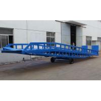Quality DCQY10 - 0.6 Mobile Loading Hydraulic Dock Leveler for Rated Load 10t for sale