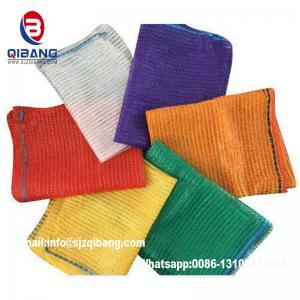 Quality Drawstring Environmental Potato Packing Raschel Net Mesh Bag/Package Bag PP/PE Mesh Bag/Bags For Garlic/Onion/Potato for sale