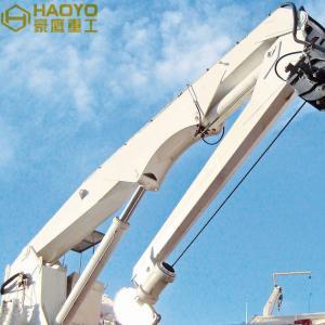 Quality Knuckle Boom Provision Offshore Dock Crane Load  Marine Ship Deck Crane for sale